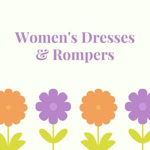Women's Dresses & Rompers